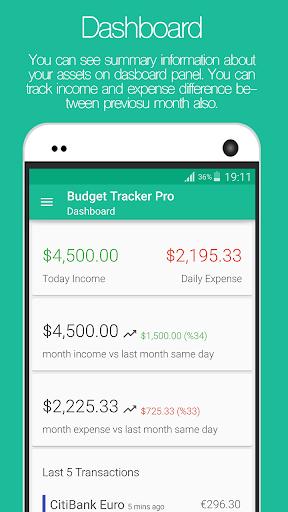 Budget Tracker Pro