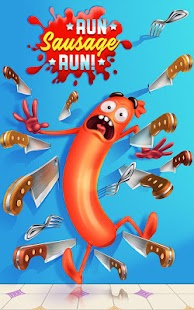 ApkMod1.Com Run Sausage Run! + (Unlimited Coins) for Android Arcade Game