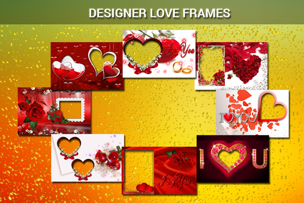 Designer Love Frames - screenshot