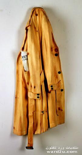 منحوتات خشبية انما ايه تحف