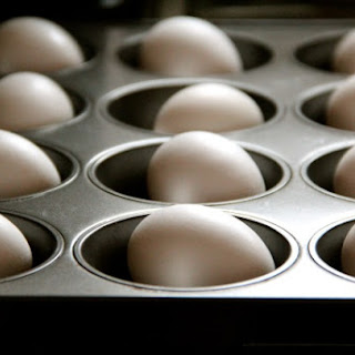 Baked Hard-Cooked Eggs
