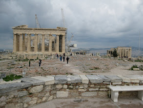 Photo: The Acropolis, or hill, in Athens