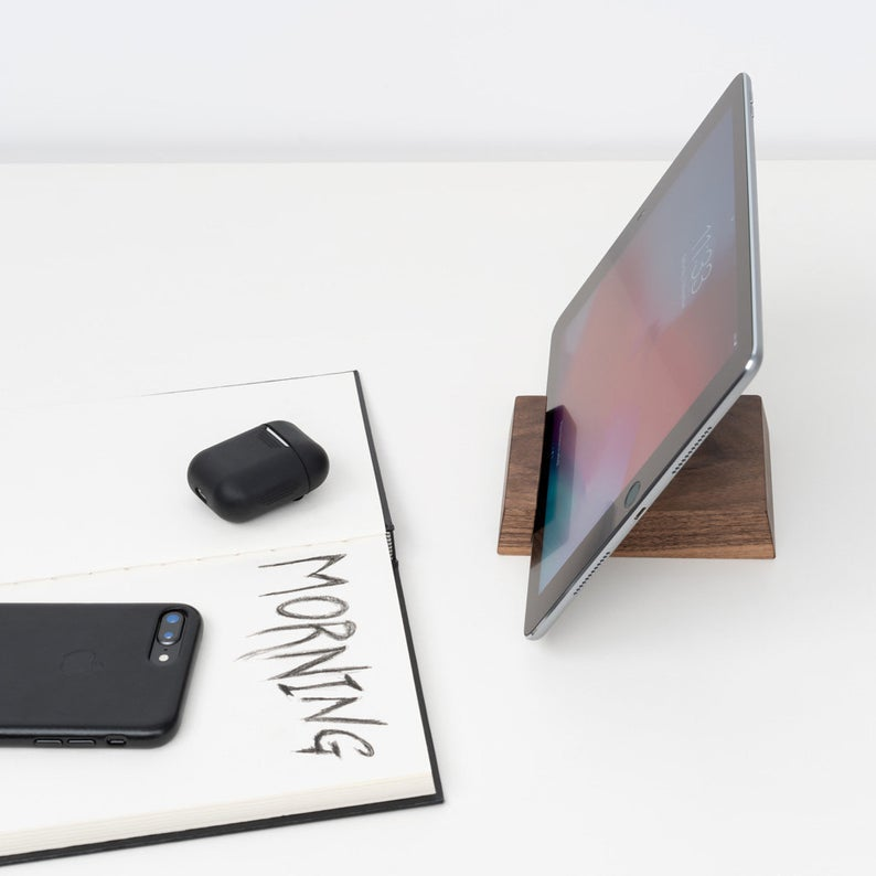 Wooden iPad Dock: These will help you make some money.