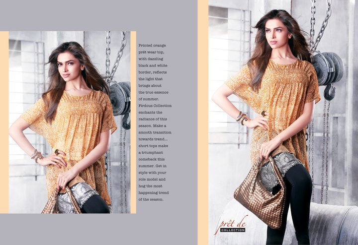Lawn Summer Collection 2011 With Deepika Padukone