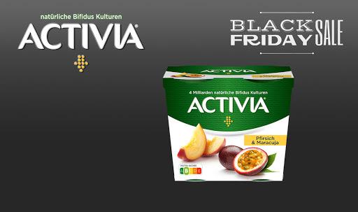 Bild für Cashback-Angebot: Black Friday: Activia leckere Früchte - Activia
