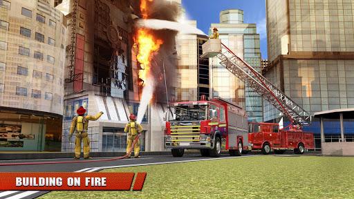 City Firefighter Truck conduite de sauvetage  captures d'u00e9cran 3