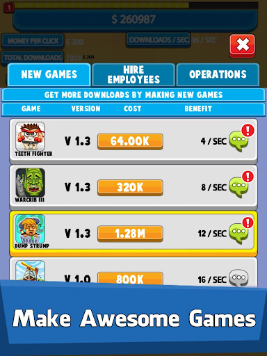 Video Game Tycoon - Idle Clicker & Tap Inc Game 1.21 screenshots 7