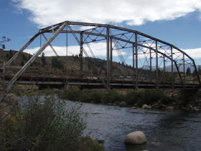 Photo: Abandoned bridge at put-in.