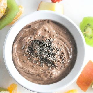 Chocolate Peanut Butter Greek Yogurt Dip