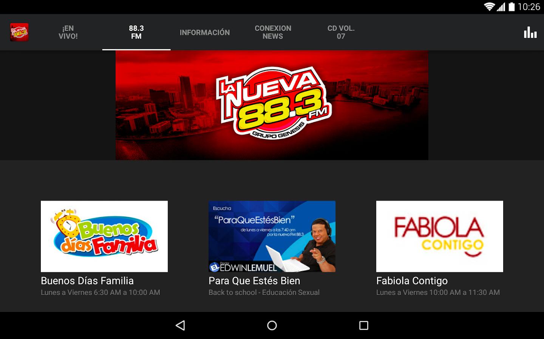 LaNueva883- screenshot