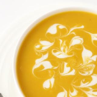 Sweet Potato Ginger Soup.