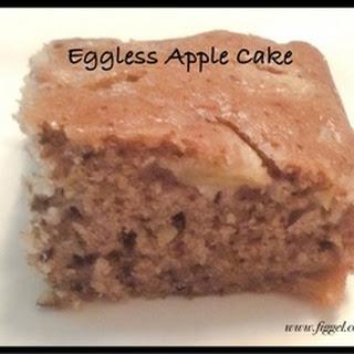 Eggless Apple Cake.