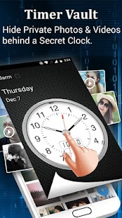 Clock - The Vault : Secret Photo Video Locker Screenshot