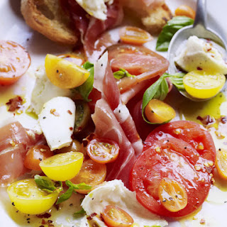 Tomato Salad with Prosciutto
