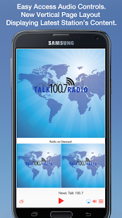 News Talk 100.7- screenshot thumbnail