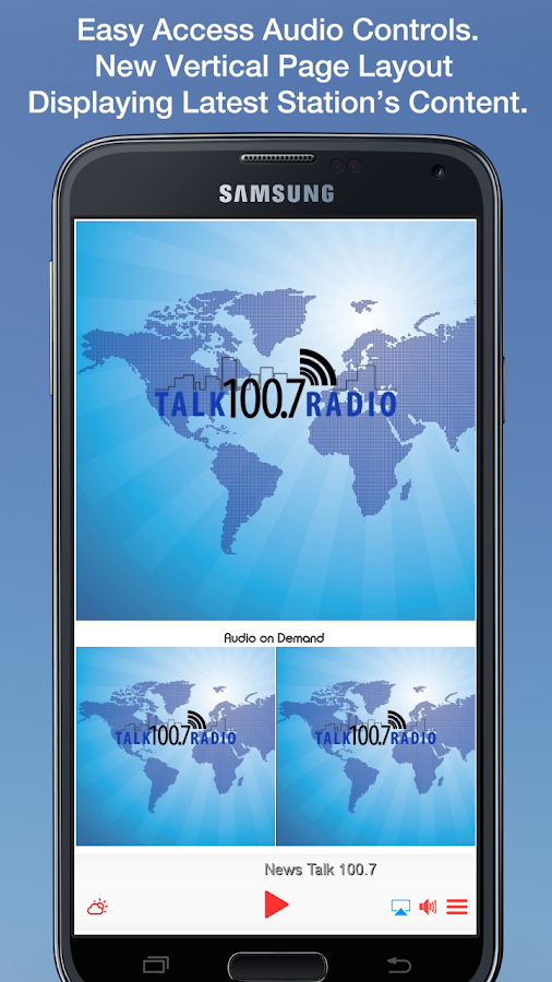 News Talk 100.7- screenshot