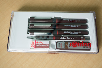 Photo: Rotring Tikky Fineliner and Mechanical Pencil