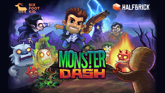 Monster Dash – Miniaturansicht des Screenshots