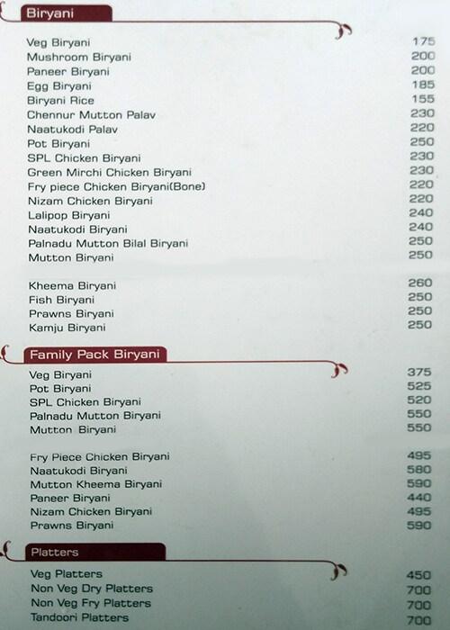 Kritunga Restaurant menu 4