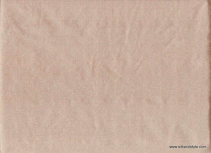 Photo: Agra 13 - Plain Toast   100% Silk Taffeta Plain