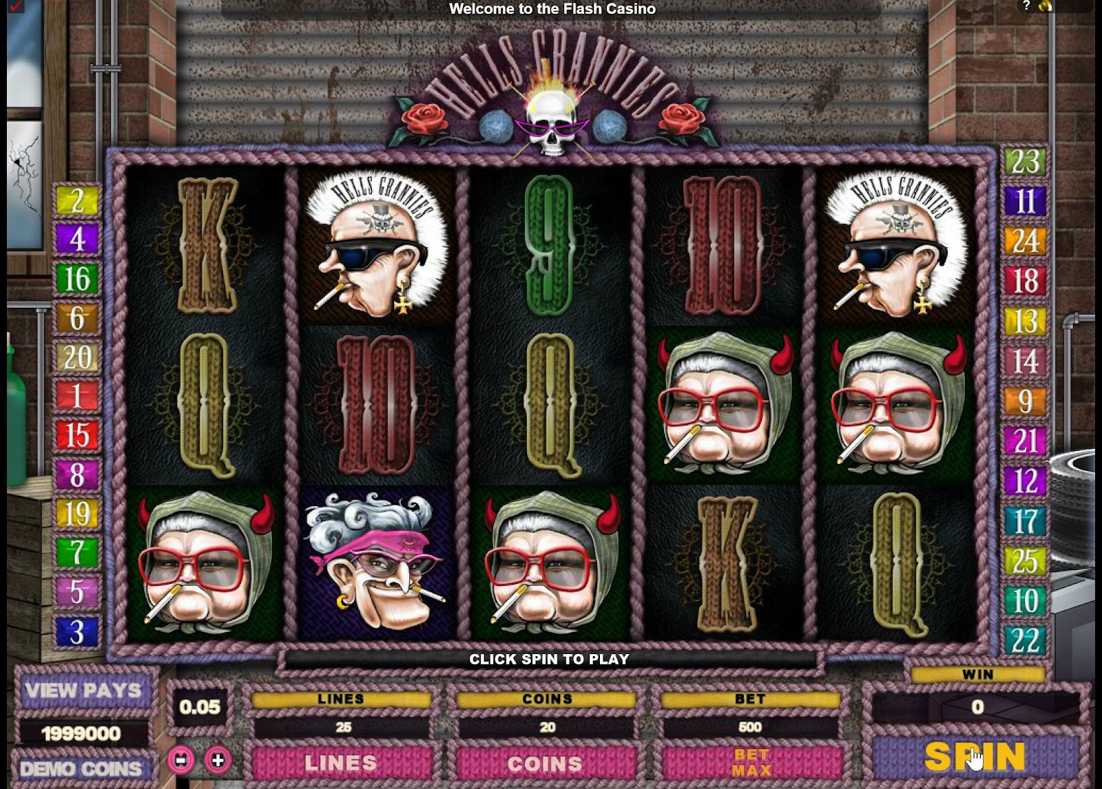 Hells Grannies Slots Game Review