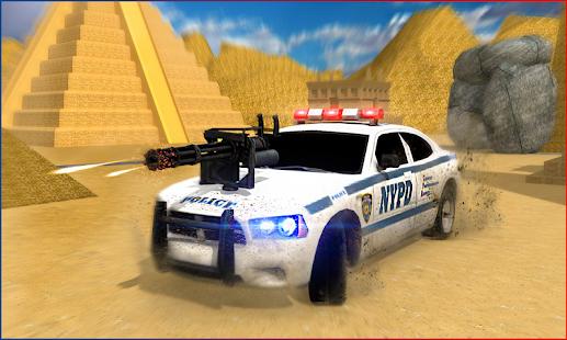 Police Car Shooter - náhled