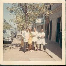 Photo: Almirante Latorre 169, años 1968 con lola peruana.