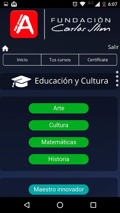 aprende.org- screenshot