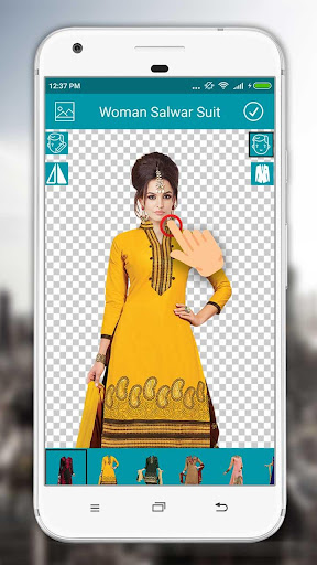 Women Salwar Suit Photo Editor screenshot 2