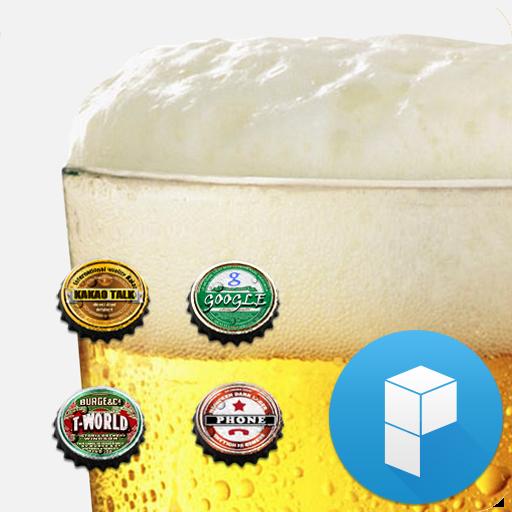 Beer Bottle Caps Theme 個人化 App LOGO-APP試玩