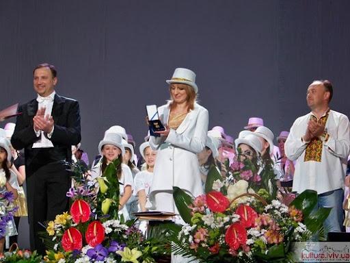 Оксана Лань та балет Акверіас