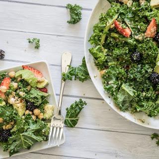 Kale Berry and Quinoa Salad