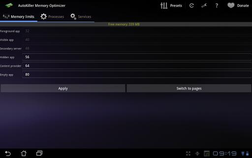 AutoKiller Memory Optimizer  screenshot 9