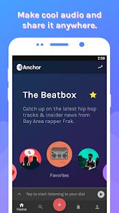 Anchor - Podcast & Radio - náhled