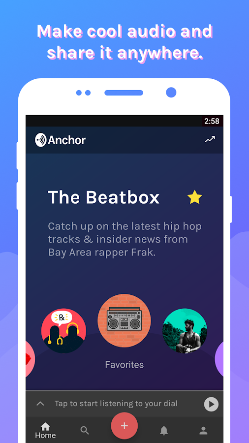 Anchor - Podcast & Radio- screenshot