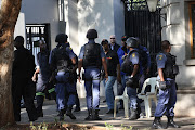 The Hawks raided the Gupta family's compound in Saxonwold, Johannesburg on 14 February 2018.