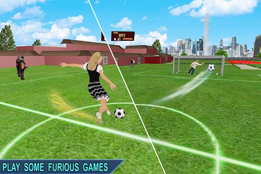 Virtual Girl Life: New High School Girl Sim android2mod screenshots 5