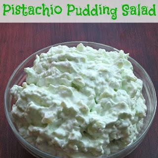 Pistachio Pudding Salad.