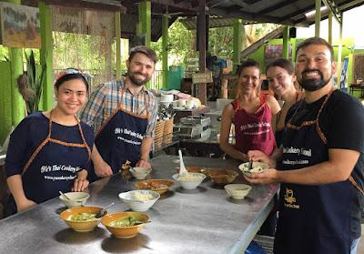 Morning Class Ya's Thai Cookery School in Ao Nang