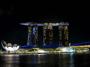 Photo: Marina Bay Sand hotel