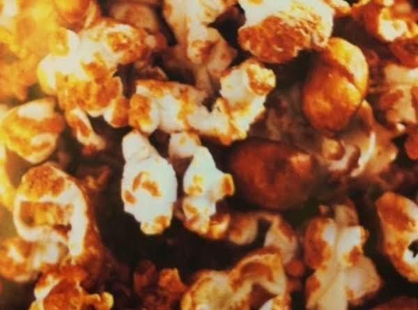 Low Sugar Candied Popcorn