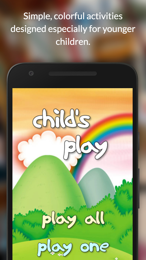 Child's Play for Kids- screenshot