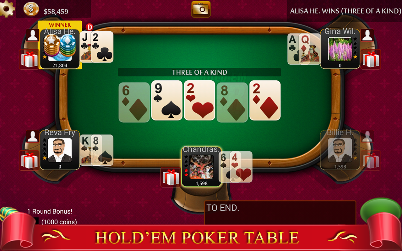 local texas holdem games