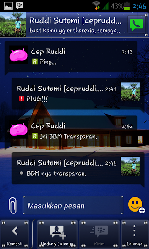 BM transparent for android