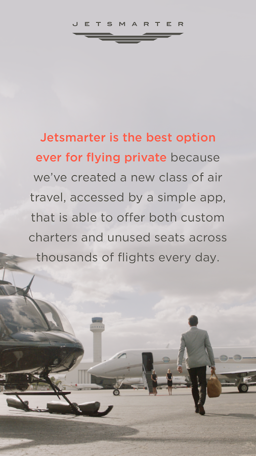 JetSmarter Private Jet Charter- screenshot