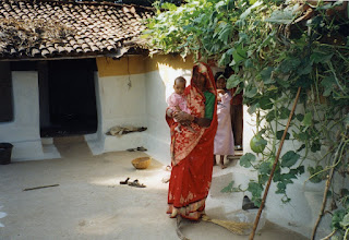 Photo: Another village this time at Bandhavgarh 2002