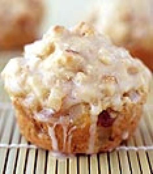 Glazed Pear Muffins Recipe