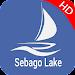 Sebago Lake Offline GPS Charts Icon