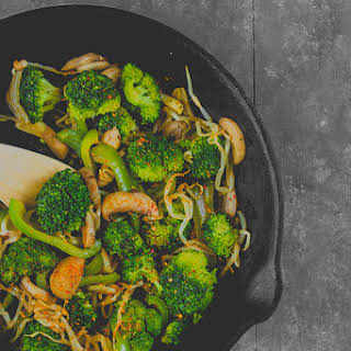 Mushroom And Bean Sprout Stir Fry Recipes.