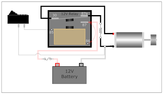 The Last Diagram Uses 2 Spst Relays Single Pole Single